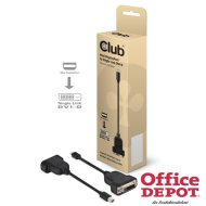 CLUB3D Mini Displayport - DVI-D passive adapter