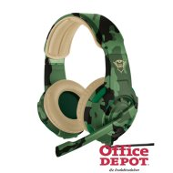 Trust GXT 310C Radius jungle camo gamer headset