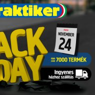 A Black Friday a Praktikerhez is közeledik