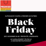 Black Friday a Premier Outletben