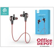 Devia ST992149 Swift Sport Bluetooth piros headset