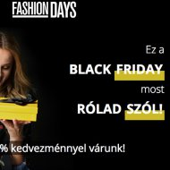 Black Friday a Fashion Daysben