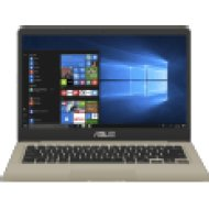 "S410UN-EB041T arany notebook (14"" Full HD/Core i5/8GB/128GB SSD + 1TB HDD/MX150 2GB VGA/Windows 10)"