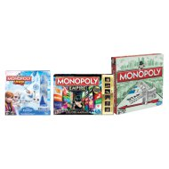 MONOPOLY JUNIOR FROZEN, MONOPOLY EMPIRE VAGY MONOPOLY