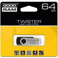 Pendrive 64GB GOODRAM Twister USB2.0, fekete
