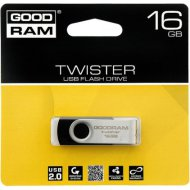 Pendrive 16GB GOODRAM Twister USB2.0, fekete