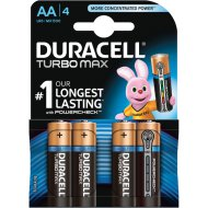 DURACELL TURBO MAX 4DB AA ELEM DL 5000394010338