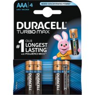 DURACELL TURBO MAX 4DB AAA ELEM DL 5000394010369