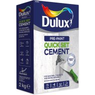 DULUX PRE-PAINT QUICK SET. CEMENT 2KG (2×1KG)