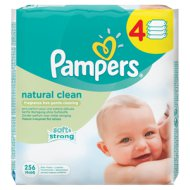 WIPES BABY FRESH, NATURAL CLEAN 6 Ft/db