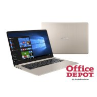 "ASUS VivoBook S510UN-BR247 15,6""/Intel Core i3-7000U/4GB/1TB/MX150 2GB/arany laptop"