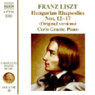 Franz Liszt: Hungarian Rhapsodies Nos. 12-17 (CD)