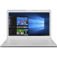 "VivoBook 17 X705UA-GC380T fehér laptop (17,3"" Full HD matt/Celeron/4GB/128GB SSD+1TB HDD/Windows 10)"
