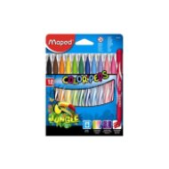 Maped Color Peps Jungle 2,8 mm kimosható filctoll 12szín