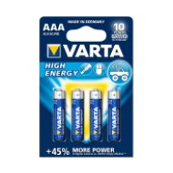 Varta mikro elem HIGH ENERGY AAA 4db/cs