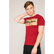 Pepe Jeans - T-shirt Charing - piros