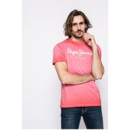Pepe Jeans - T-shirt West Sir - piros