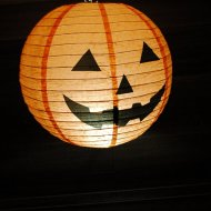 Halloween lampion