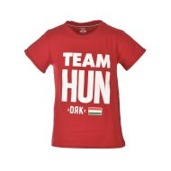 TEAM HUN T-SHIRT RED MEN