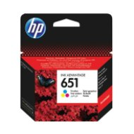 HP 651 Tri-colour Ink Cartr. tri-color