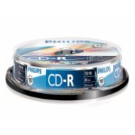 Philips CD-R80CB*10 hengeres