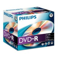 Philips DVD-R 4.7 GB 16X normál tokos