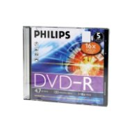 Philips DVD-R slim 16x írható DVD