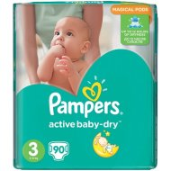 Pampers Active Baby-Dry Giant Pack pelenka
