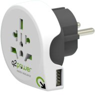 UTAZÓADAPTER, WORLD TO EUROPE USB