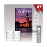 City by Night agenda A5 light London
