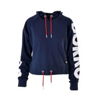 TRICOLOR WOMEN CROPPED HOODY