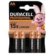 DURACELL PROFESSIONAL 4 DB AA