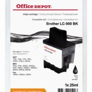 Office Depot Brother LC900BK kompatibilis patron, fekete