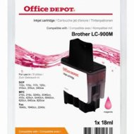 Office Depot Brother LC900M kompatibilis patron, bíbor