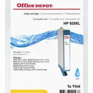 Office Depot HP CD972AE/920XL kompatibilis patron, cián