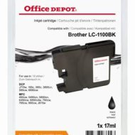Office Depot Brother LC1100BK kompatibilis patron, fekete