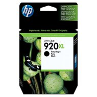 HP CD975AE/920XL patron, fekete