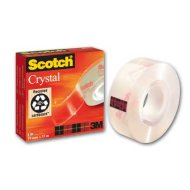 Scotch Crystal Clear ragasztószalag 19 mm x 33 m