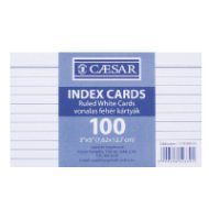 Index Card vonalas 100 db/csomag