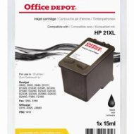 Office Depot HP C9351A/21XL kompatibilis patron, fekete