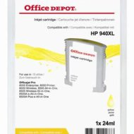 Office Depot HP C4909AE/940XL kompatibilis patron, sárga