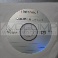 INTENSO DVD+R (8X) DUAL LAYER 8,5GB PAPÍRTOKOS (HOL.)