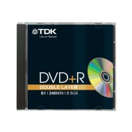 TDK DVD+R85DLEC Double-Layer 8x