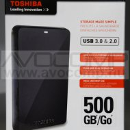 "TOSHIBA STOR.E Basics 500GB 2,5"" USB External HDD"