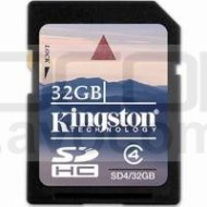 Kingston 32GB SDHC CL4