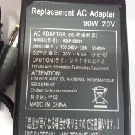Lenovo 20V 4.5 90W ugy. adapter