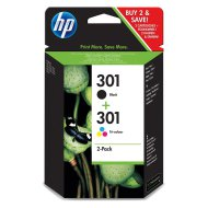 HP 301 Duo pack patron, BK,C,