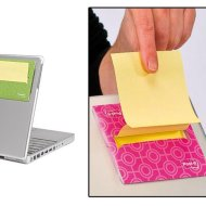 Post-it laptop Z-adagoló 3 szín