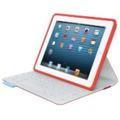 FabricSkin Keyboard Folio for iPad piros